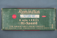 Remington 8 m/m Lebel Hi-Speed Ammo Top