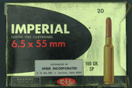 Imperial 6.5 x 55 mm Ammunition Top