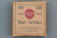 Remington Arms Co 32 Rim Fire Blank Cartridges 1920 Issue front Side
