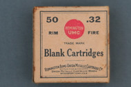 Remington Arms-Union Metallic Cartridge Co. 32 Rim Fire Blank Ammo Front Side