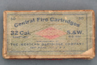 Western 32 Cal. S&W Central Fire Cartridges