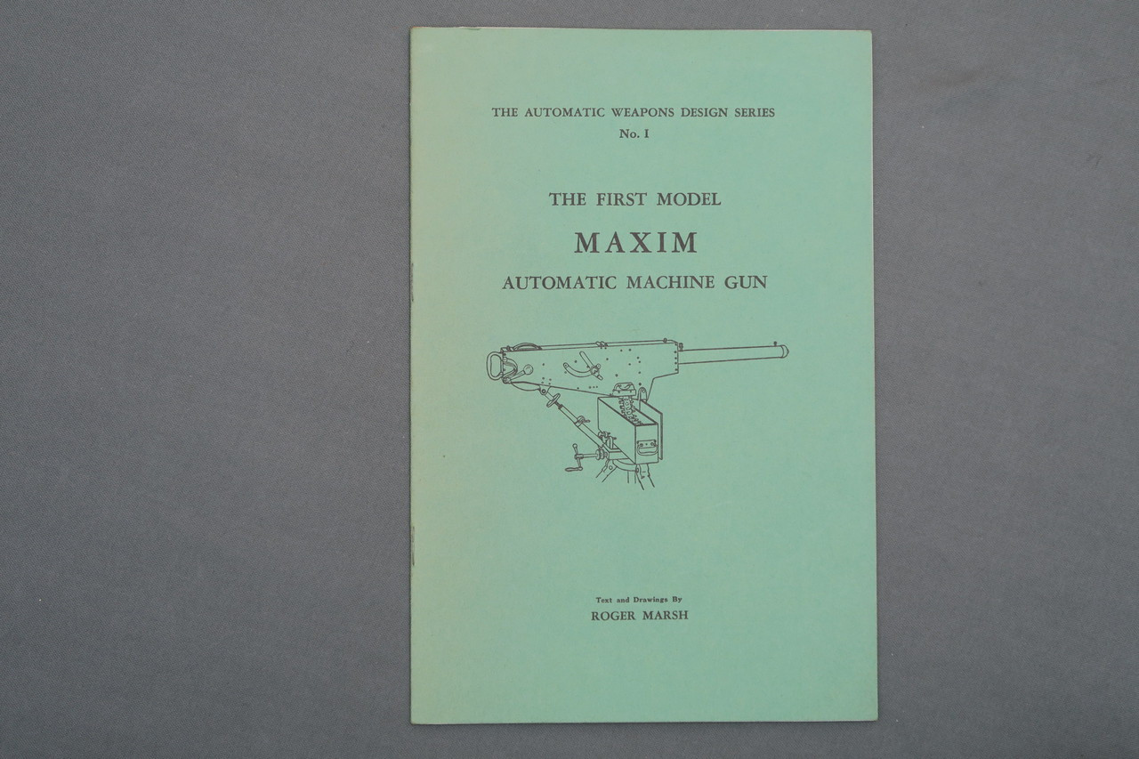 The First Model Maxim Automatic Machine Gun by Roger Marsh
