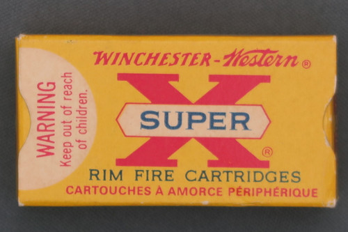 Winchester Western Super X Canadian 22 Long Rifle Ammunition