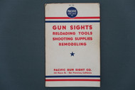 Pacific Gun Sight Co. 1941 Catalog