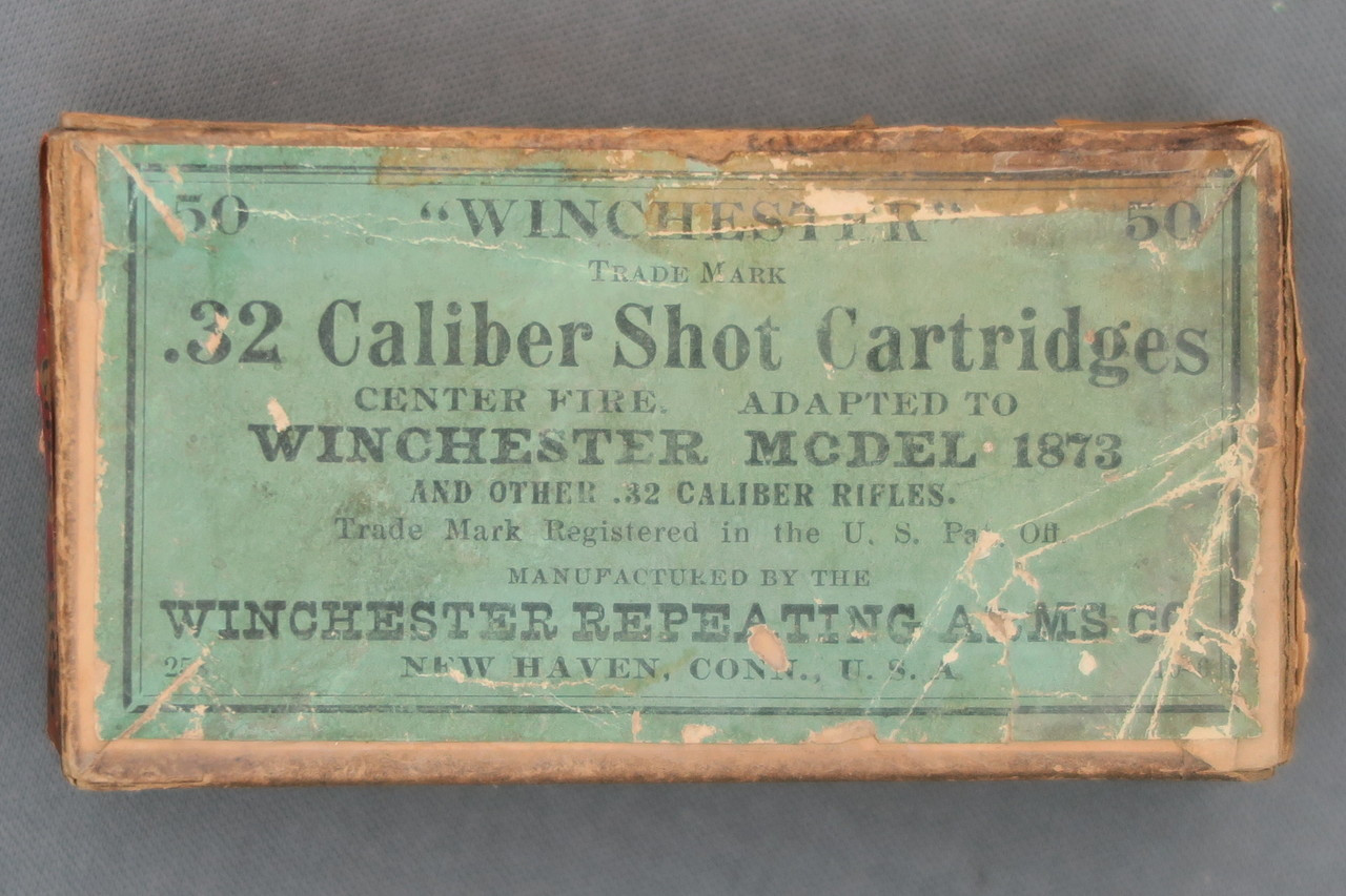 Winchester 32 Caliber Shot Cartridges Adapted To Winchester Model 1873