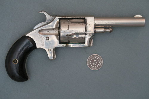 Ranger No. 2  32 Rim Fire Spur Trigger Revolver S# 54023 Right Side