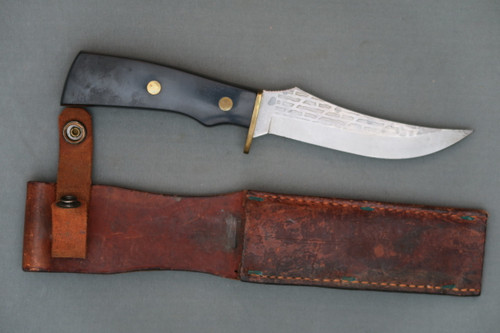 Vintage Imperial Hunting Knife Right Side with Sheath