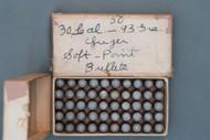 30 Cal Luger 93 Grain Soft Point Bullets