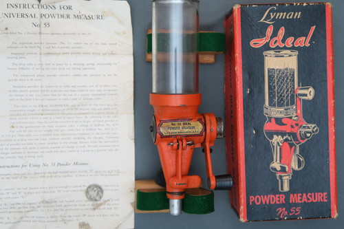 Lyman Ideal Powder Measure No. 55 in Box