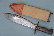 U.S. 1917 Bolo Knife by Plumb in Scabbard Right Side