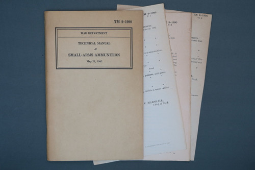 TM 9-1990 Small Arms Ammunition May 23, 1942