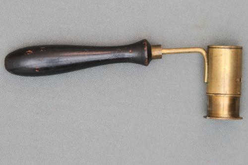 Adjustable Brass Black Powder Measure Right Side