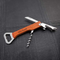 Personalized Wine and bottle Opener Wooden Handle Multi-Tool