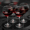 Personalized Red Wine Glasses Set of 4