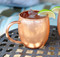 10 Pack of 16 oz Barrel Copper Moscow Mule Mug