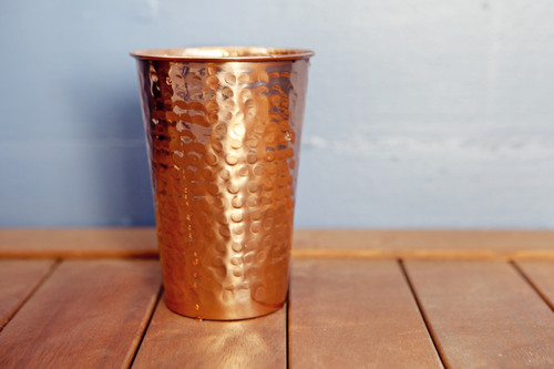 Hammered Copper Tumbler Alchemade