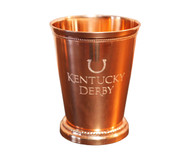 Engraved Copper Mint Julep Cup