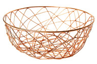 Copper Wire Storage Basket-11""