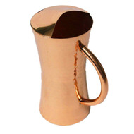 Modern Copper Finish Pitcher