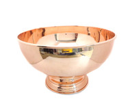 Copper Punch Bowl - 12""
