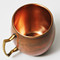 Antique Copper Barrel Shaped Copper Mug