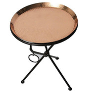 Copper Drink Tray Table for Living Room, Kitchen and Patio by Alchemade