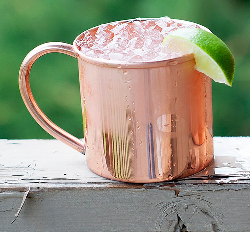 Copper Moscow Mule Mug 16 oz
