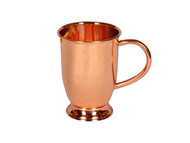 16 oz Barrel Shaped Copper Moscow Mule Mug with Base