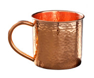 Hammered Copper Mug Moscow Mule