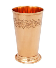 Mint Julep Cup with Floral Design - 18 oz