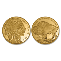 .9999 Pure Gold $5 Buffalo Coin