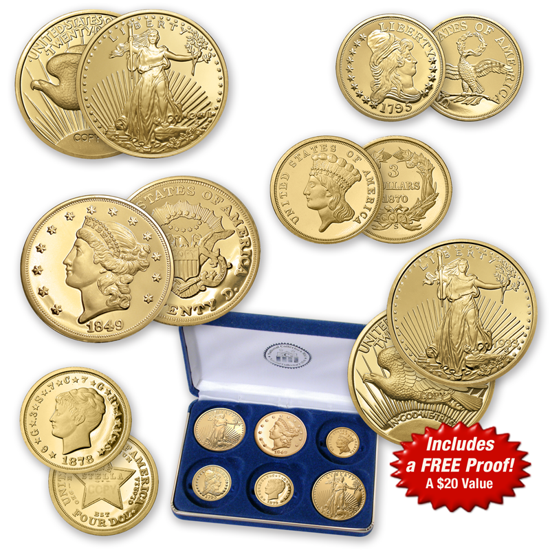 America's Rare Gold Coins Tribute Collection - National