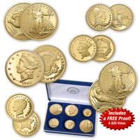 America's Rare Gold Coins Tribute Collection