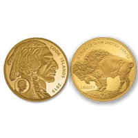 .9999 Pure Gold $25 Buffalo Coin For Just 159.00!