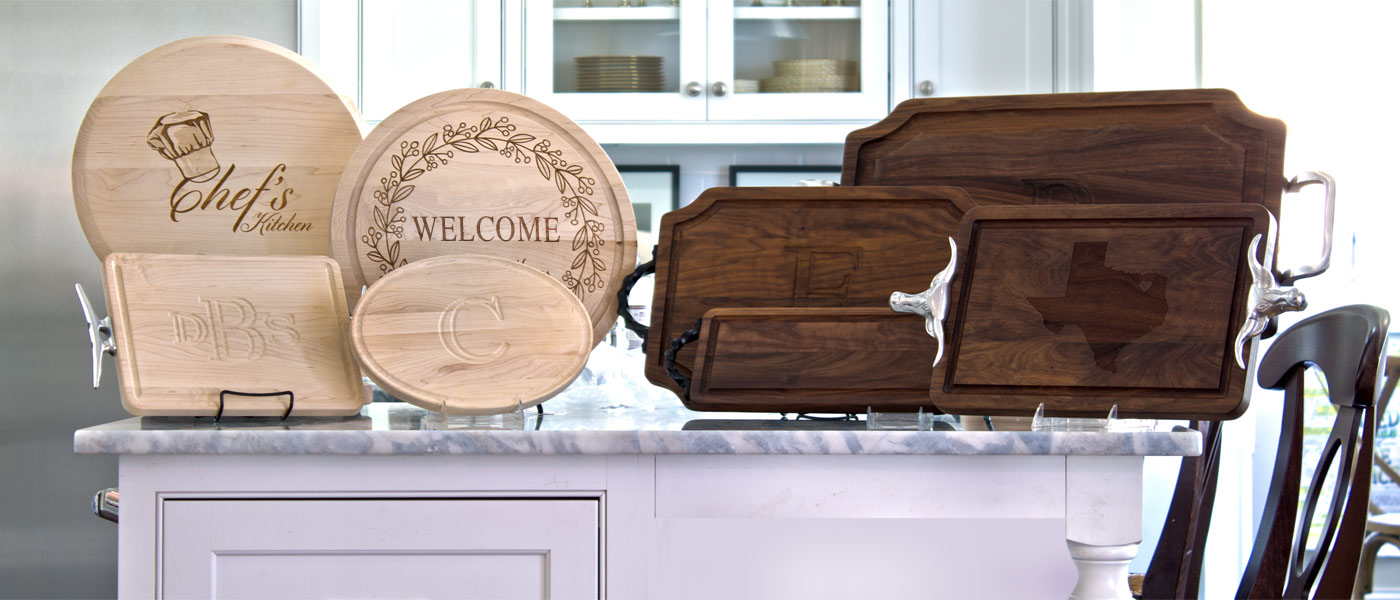 BigWood Boards Monogrammed Cutting Boards™