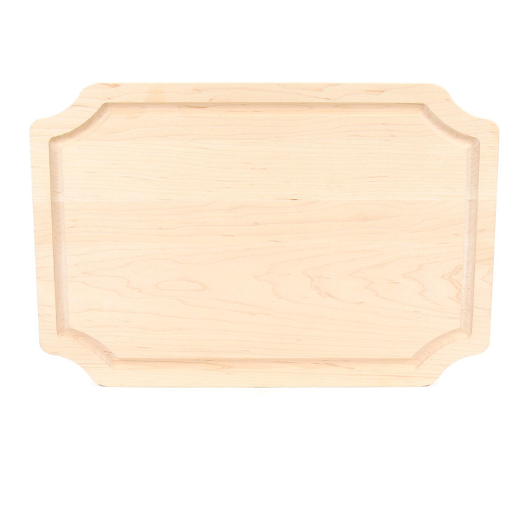 12 x 18 Scalloped Maple Cutting Board