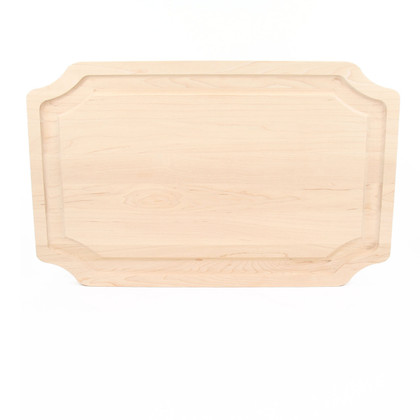 15 x 24 Scalloped Maple Cutting Board
