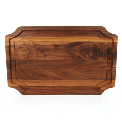 15 x 24 Scalloped Walnut Cutting Board