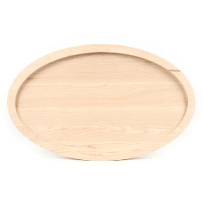 15 x 24 Oval Maple Cutting Board