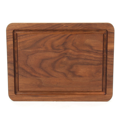 Monogrammed Wiltshire 9 x 12 Walnut Cutting Board