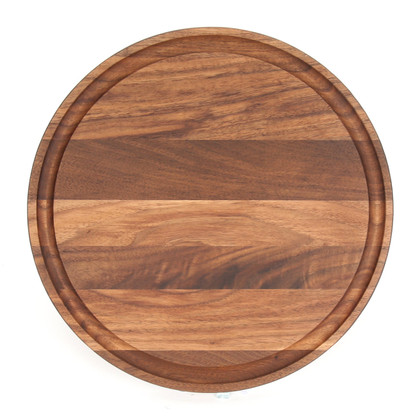 "Laser Somerset 10"" Cutting Board - Walnut (No Handles)"