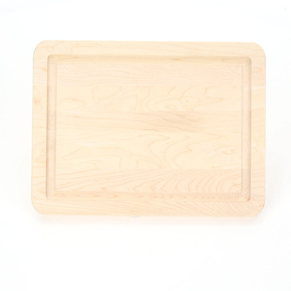 "Laser Wiltshire 9"" x 12"" Cutting Board - Maple (No Handles)"