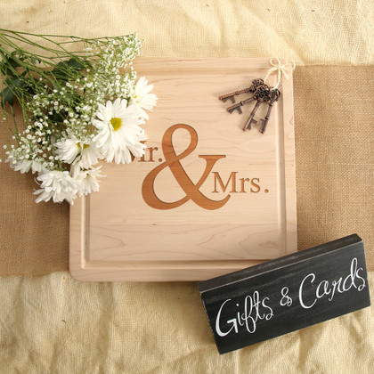 Mr. & Mrs. Square Block