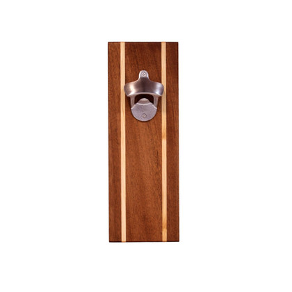 Sapele Bottle Opener