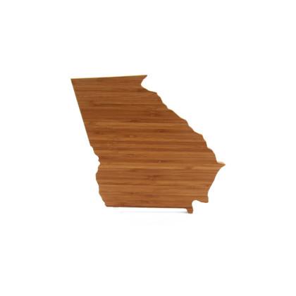 State Shape Bamboo - Mini Cheese Board