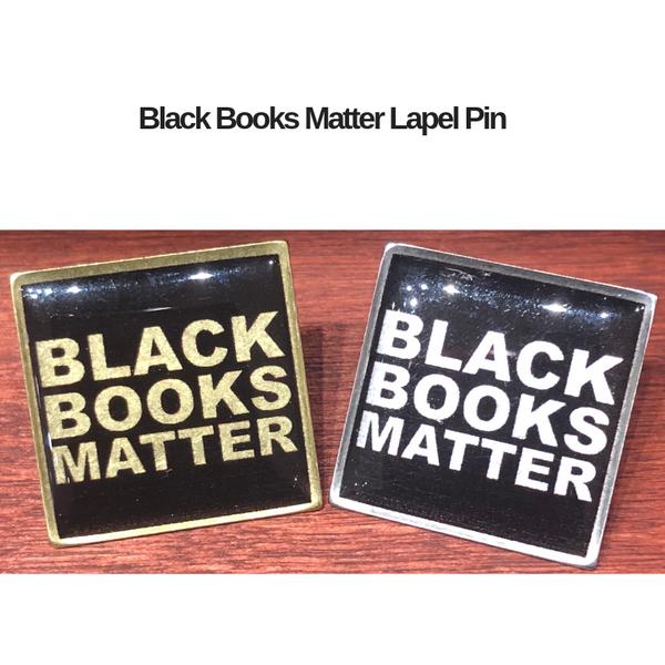 Black Books Matter Lapel Pin