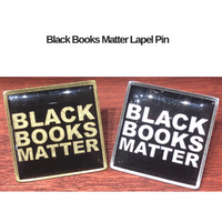 Black Books Matter Lapel Pin