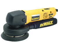 DW443 150mm Body Grip Random Orbit Variable Speed Sander 530 Watt 230 Volt