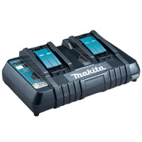 Makita DC18RD 7.2 - 18 V LXT Li-Ion Twin Port Rapid Battery Charger