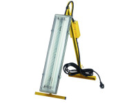Faithfull Power Plus Plasterers Folding Light 2 x 18 Watt 110 Volt